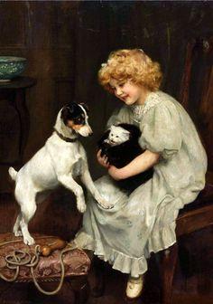 ●❥Arthur John Elsley (London, England, November 20, 1860 - Tunbridge Wells, England, February 19, 1952)❥●