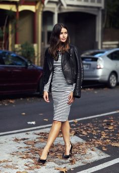 In The Spotlight: Black & White Trend #black #white #streetstyle #outfit