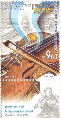History of Israel - Postage Stamps - Index 2014  Violins that Survived the Holocaust