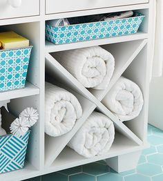 Small spaces are great for getting back to the basics and keeping less stuff. Have only what is necessary for your family and replace items as they get worn or damaged. In addition, to maintain easy access to what you do have, subdivide open spaces for better organization.