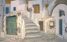 Image result for santorini art Online Gallery, Art Gallery, 3d Painting, International Artist, Paros, Greek Islands, Santorini, Great Artists, Amazing Art