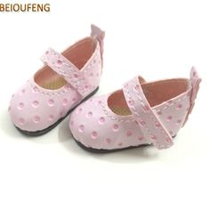 1 Pair Doll Shoes Doll Sandals For 18 Inch 43Cm Dolls Acces Christmas Gift Bw GF