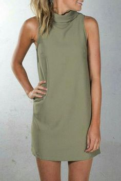 dd3e07448b 19 Best khaki dress images | Khaki dress, Business dresses, Work ...