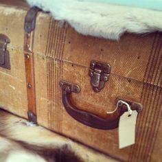 Vintage trunk - Redistributing Fashion Luxury Pop Up Shop - Feb 2013