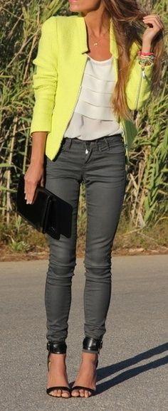 Yellow Blazer <3