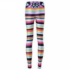 f4ffedb1ce0 Candy Stripes Printed Leggings. Printed Yoga PantsPrinted ...