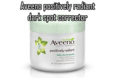 The Aveeno positively radiant dark spot corrector #DarkSpotReviews #darkspotcorrector