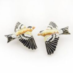 Goldfinch Stud Earrings