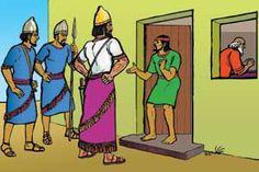 Picture 1. Naaman Visits Elisha's House