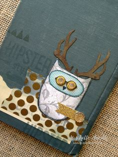 http://www.mischellesmith.com/blog/153-primitive-inspiration-what-a-hoot, owl, eclectic, ctmh, close to my heart, steampunk, vintage, technique