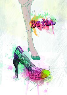 Illustration for SLOW magazine