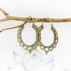 Handmade Large Tribal Hoop Earrings   Charlotte's Web Jewellery Sale, Jewelry, Charlottes Web, Hoop Earrings, Bracelets, Gold, Handmade, Jewlery, Hand Made