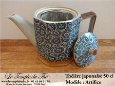 Théière en porcelaine japonaise 50 cl modèle artifice