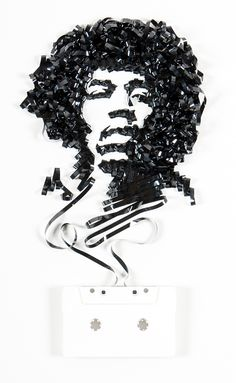 Check out this artist, Erika Iris Simmons, and her cassette art.