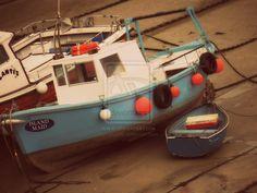 Newquay boats by Mio299.deviantart.com on @deviantART