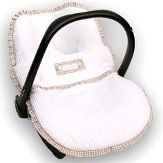 Babyschalenbezüge - Bezug + Fußsack f. maxi cosi Babyschale / sitze - ein Designerstück von HagouOriginals bei DaWanda