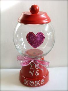 """Valentine """"Gumball"""" Machine"""