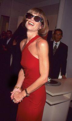 Anna Wintour circa nineties