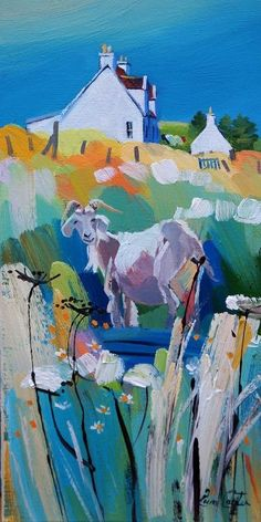 Goat On The Boat by Pam Carter