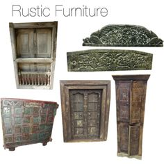 """Rustic Furniture"" by mogulinteriordesigns on Polyvore"
