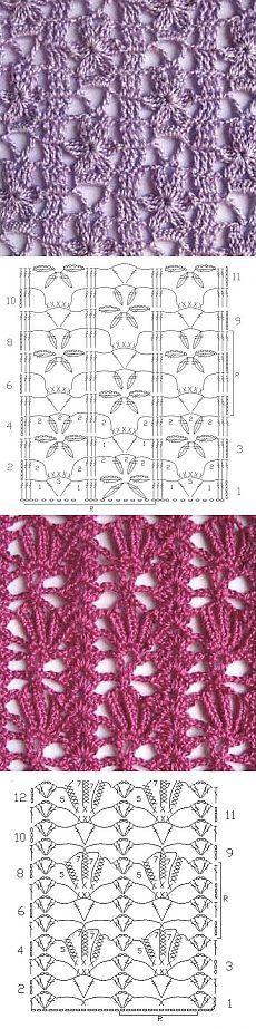 Flores crochet.