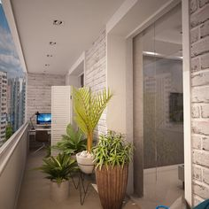 Солнечный балкон. - Балкон, терраса, фасад | Конкурсы 360.ru