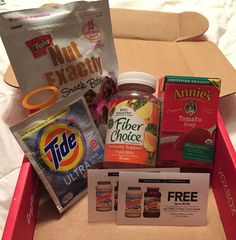 My most recent box from Influenster
