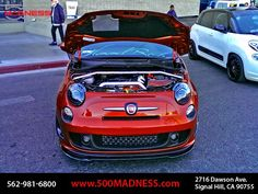 MADNESS Edition FIAT 500 ABARTH | Optima Ultimate Street Car ...