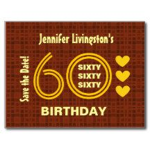 38 best 60th save the date ideas images on pinterest save the date