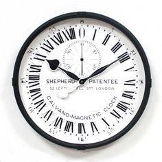 Shepherd 24 hour wall clock.  Royal Museums Greenwich.  http://shop.rmg.co.uk