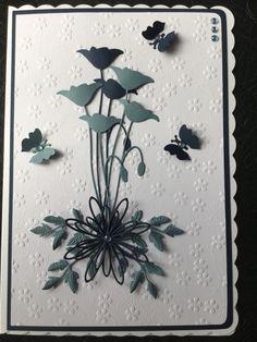 By Dianne Potter: Memory Box Prim Poppy die,Sue Wilson and Cheery Lynn dies