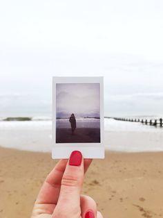 Aberdeen beach with Fujifilm Instax mini from my instagram www.instagram.com/solyomeszter #instax #polaroid #photography