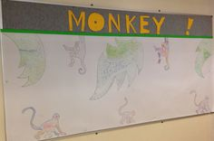 Collaborative art for year of the monkey