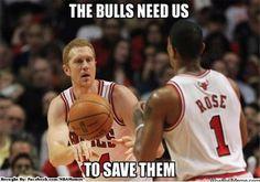 Bulls need Rose and Scalabrine