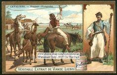 Horsemen - Hungarian Magyar NICE c1903 Card