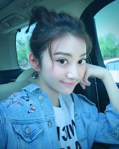 Chinese actress Jing Tian looking cute in a May 2017 selfie. Beautiful Chinese Girl, Most Beautiful Women, Beauty Full, Asian Beauty, Jing Tian, Cute Girl Pic, Asian Cute, Cute Actors, Chinese Actress
