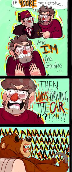 Gravity Falls,фэндомы,Stanley Pines,GF Персонажи,Stanford Pines