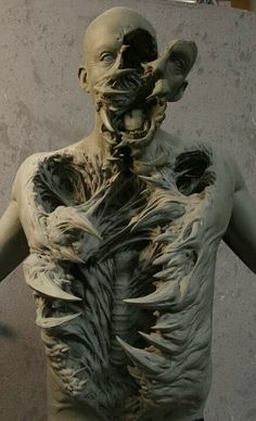 The Thing (Casey Love?) sculpture.