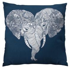 Punch Trunk Love Throw Pillow | Overstock.com Shopping - The Best Deals on Throw Pillows