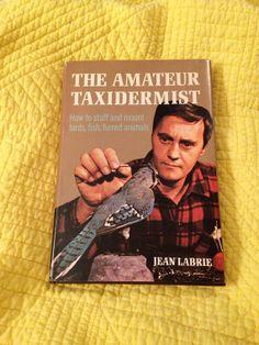 The Amateur Taxidermist Vintage Taxidermy Book by HoneyCultVintage, $12.00