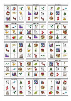 Bingo de Navidad p.1/2