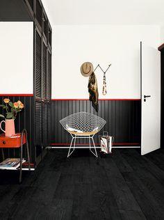 18 Black Laminate Express Flooring, Matte Black Laminate Flooring