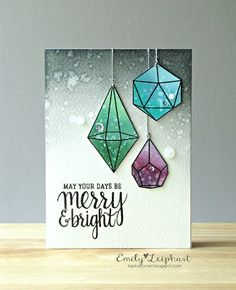 Art♥from♥the♥Heart: {Hero Arts} 30-Day Colouring Challenge featuring Christmas Crystals + Joy to the World