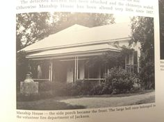 Manship House, Historic Architecture in Mississippi