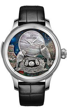 Jaquet Droz Les Ateliers D'Art The Bird Repeater (Style No: J031034202) from SwissLuxury.Com