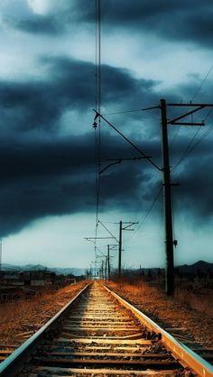 Railroad in armenia #iphone #wallpaper