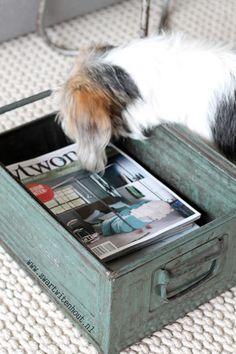 Stoere tijdschriftenbak!