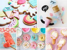 Roze popcorn, unicorn koekjes of een prinsessen cupcake. Van deze traktaties worden alle meisjes dolgelukkig!