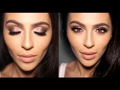 ▶ Neutral Smoky Eye Makeup Tutorial - YouTube