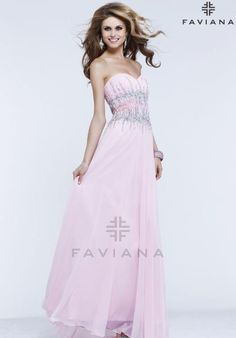 Faviana Dress S7389 at Peaches Boutique